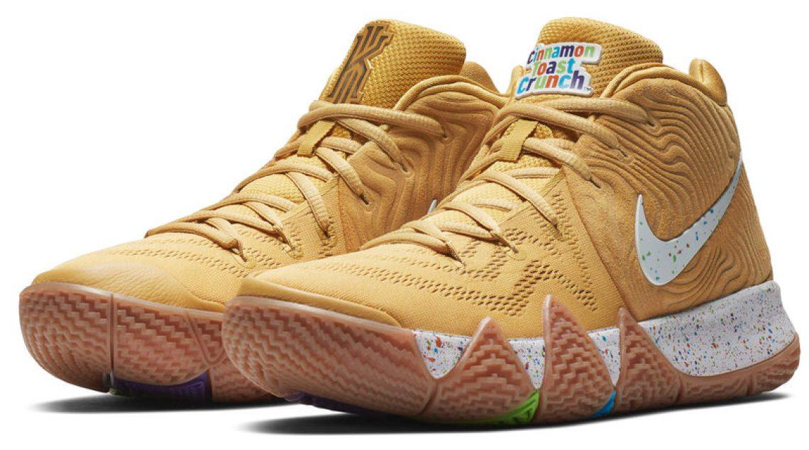 """07f8886b304 ... Nike Kyrie 4 """"Cinnamon Toast Crunch"""" ..."""
