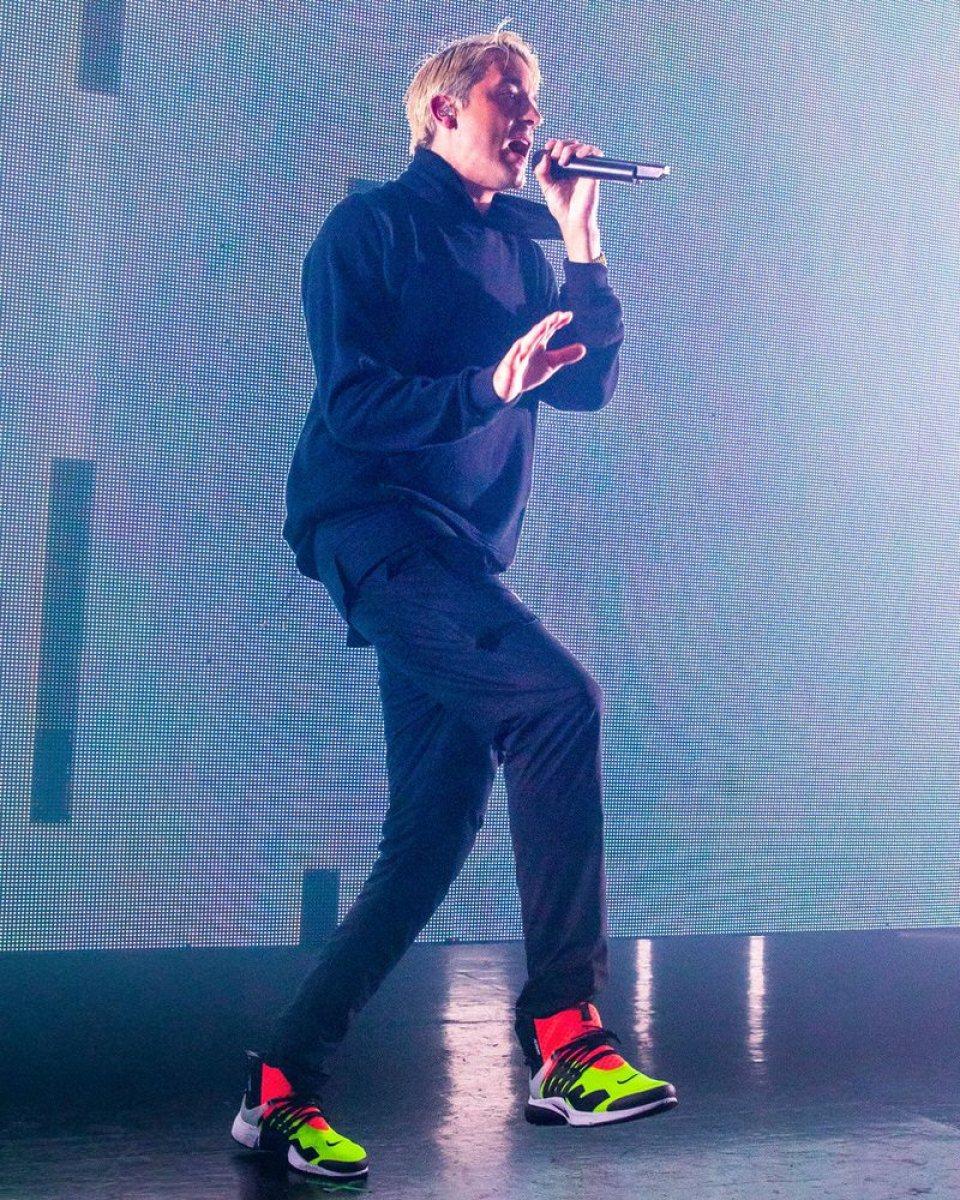G Eazy in the Acronym x Nike Air Presto Mid