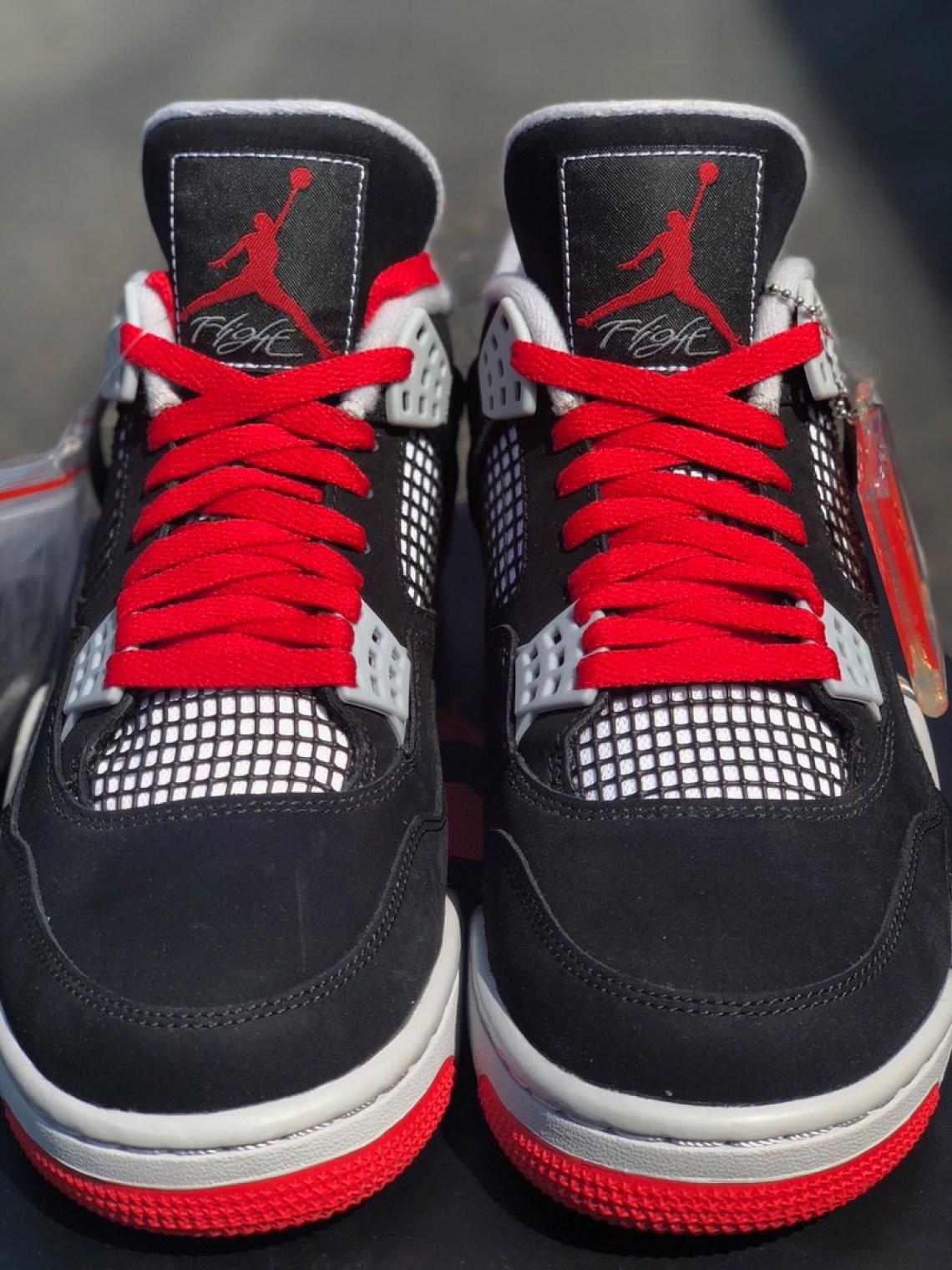 """Air Jordan 4 """"Splatter"""" Sample"""