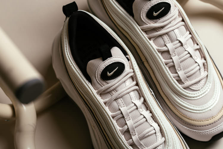 "b5c2cc12210 Women can pick up the ""Phantom"" iteration of the AM97 from Feature right  now for  160. Nike Air Max 97"