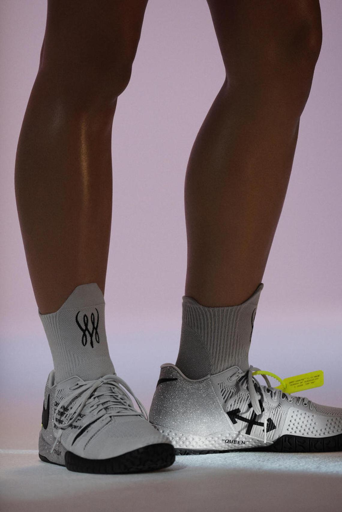 OFF WHITE x NikeCourt Flare 2 PE