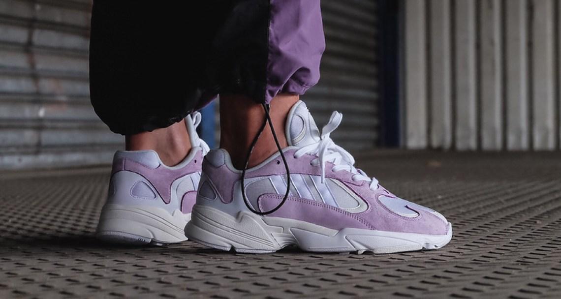 adidas Yung-1 Purple/Grey
