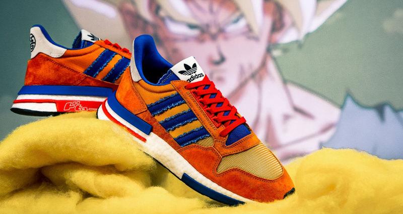 329d53c51374e Dragon Ball Z x adidas ZX 500 RM