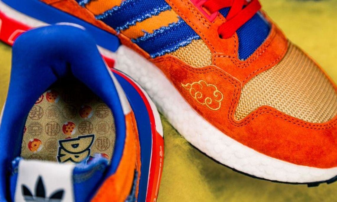 "wholesale dealer 73108 8a2be UPDATE 831 Check out on-foot shots via solebyjc  jorgecastillejos. Dragon  Ball Z x adidas ZX 500 RM ""Goku"" Dragon ..."