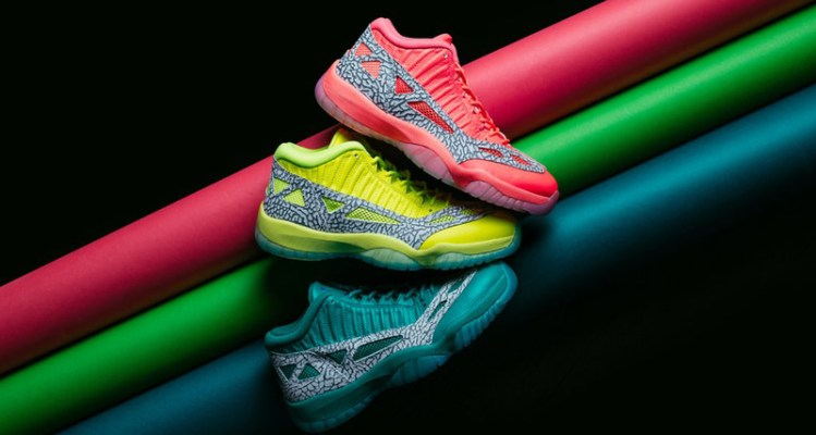 "Air Jordan 11 Low IE ""Highlighter"" Pack"