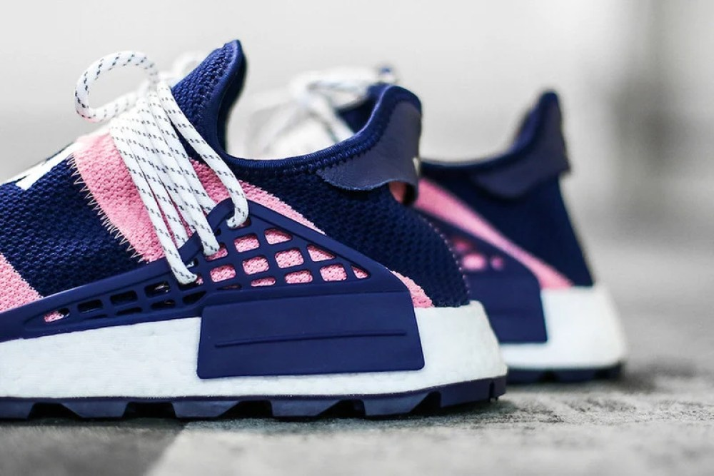 92081d891cded BBC x Pharrell x adidas NMD Hu Exclusive October 2018