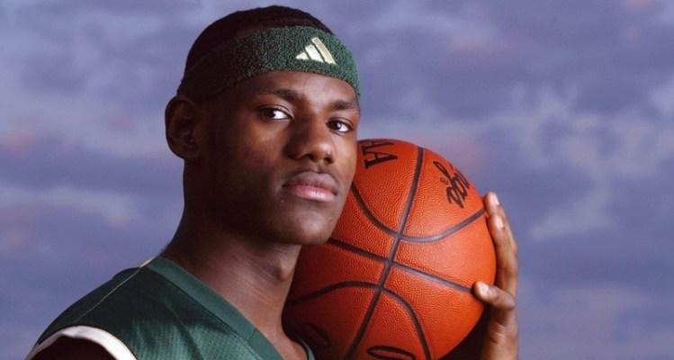 372a9c82abc LeBron James   His High School PEs    Throwback Thursday