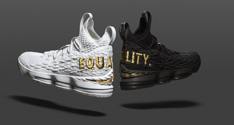 "c7c6194aaae LeBron James  Nike LeBron 15 ""Equality"" PE to Be Displayed at Smithsonian"