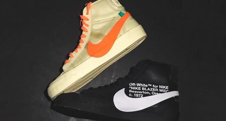 OFF WHITE x Nike Blazers