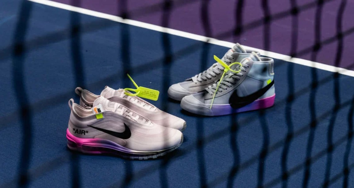 "OFF WHITE x NikeCourt ""Queen"" Collection"
