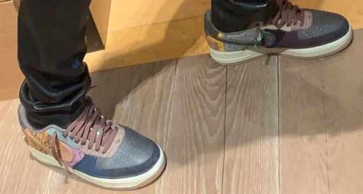 2b8819031b0aa6 Travis Scott s New Nike Air Force 1 Could Drop This Fall