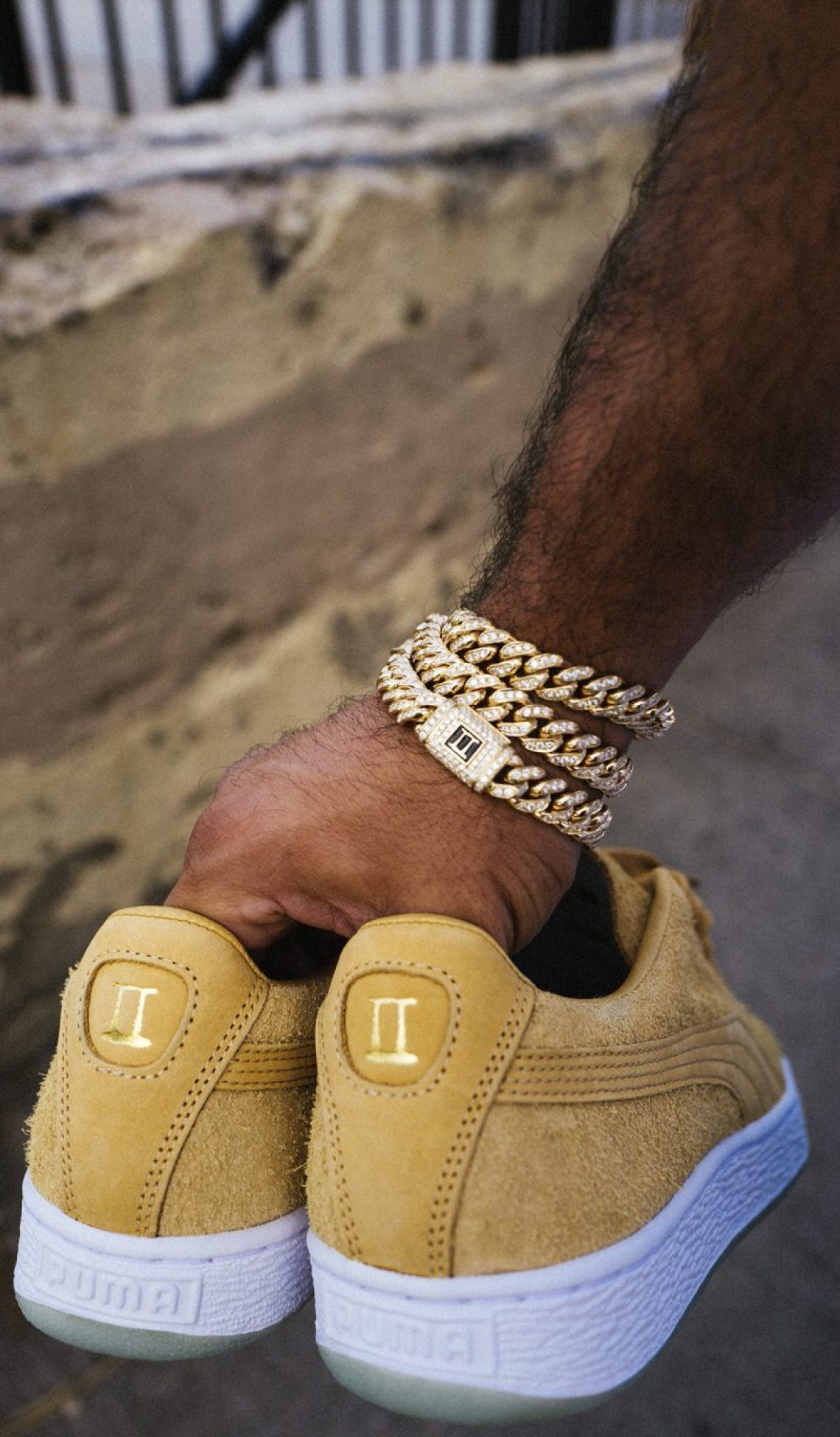 Chapter II x PUMA Suede