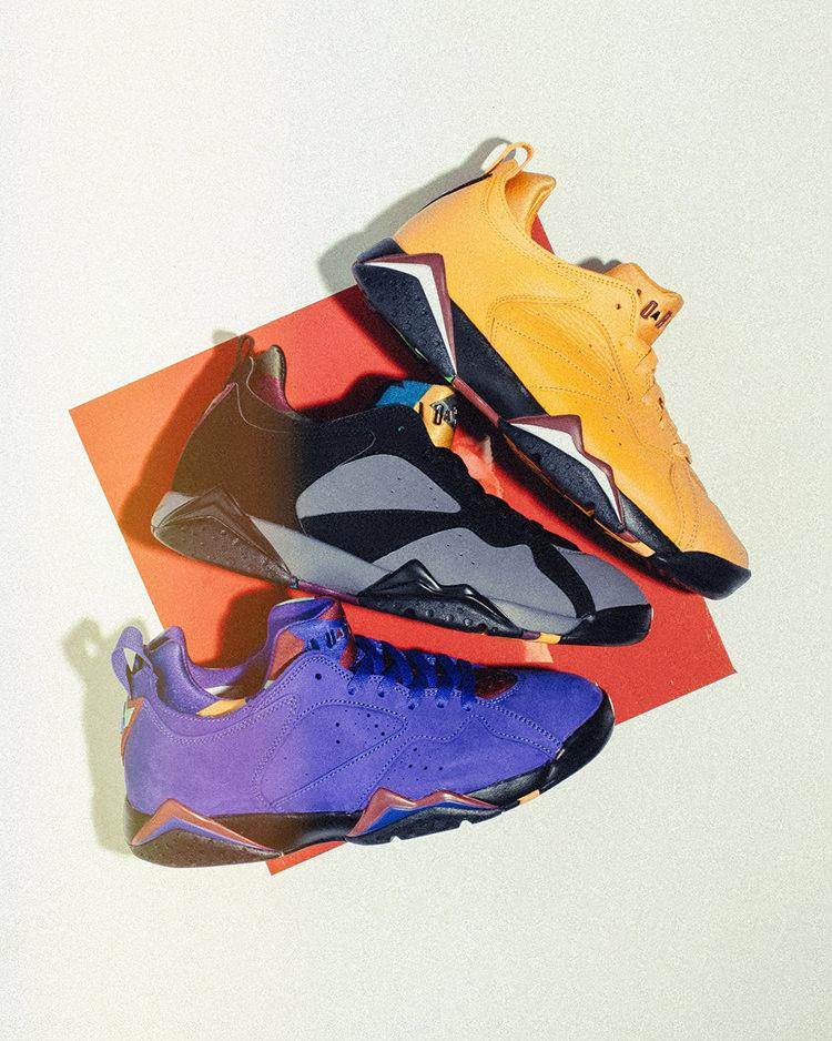 edffd438cb50a5 Air Jordan 7 Low Pack Release Details