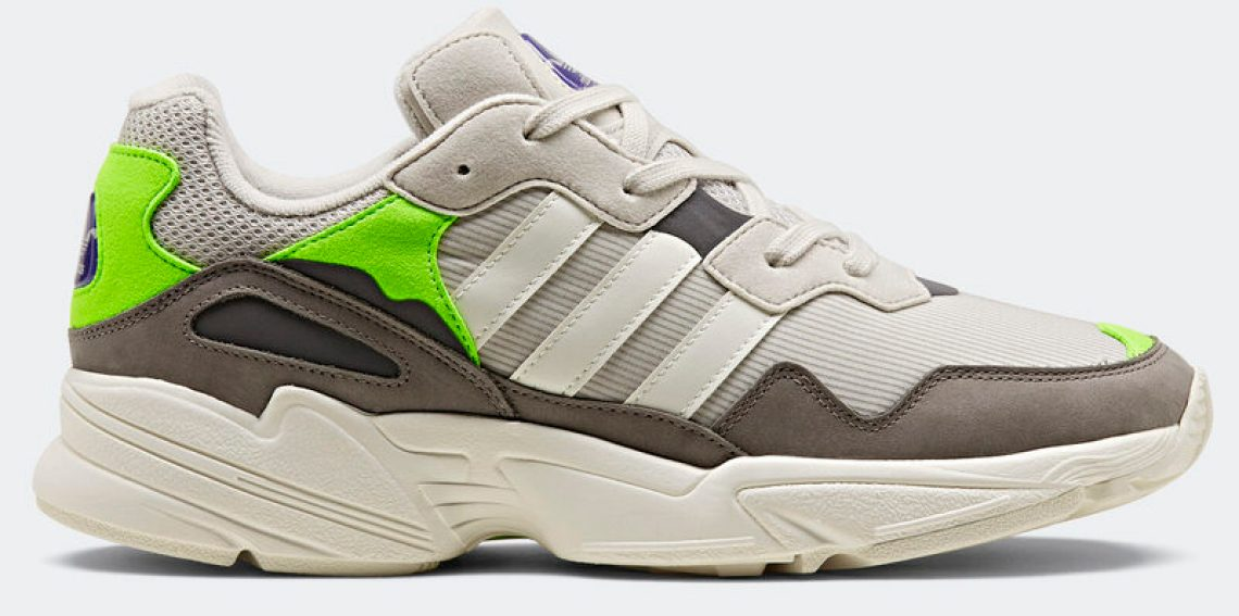 "4ecf4f50547 The new adidas Yung 96 has the perfect ""dad sneaker"" vibes but is not as  chunky as other ""dad shoes"" which make the Yung 96 a more practical daily  wear ..."