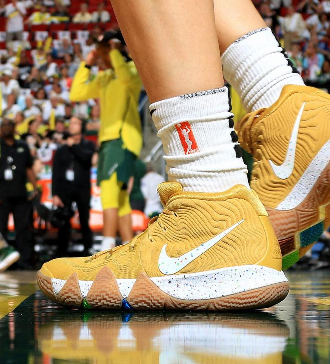 "... Sue Bird in the Nike Kyrie 4 ""Cinnamon Toast Crunch"" ... 261c7c824"