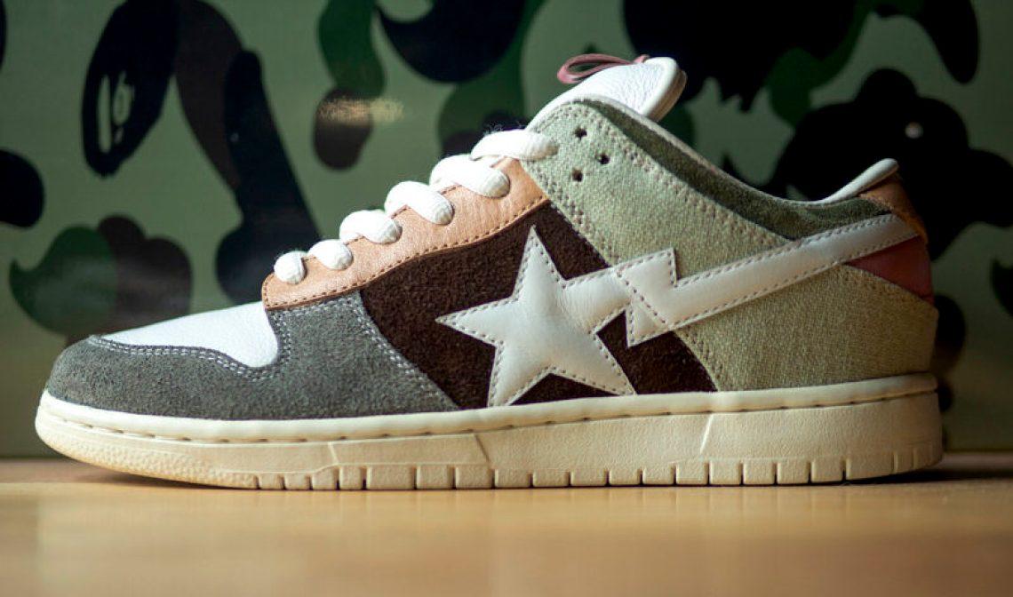 "on sale 008cf 7954e Custom BAPE x Nike SB Dunk Low ""Monkey Ass"" ..."
