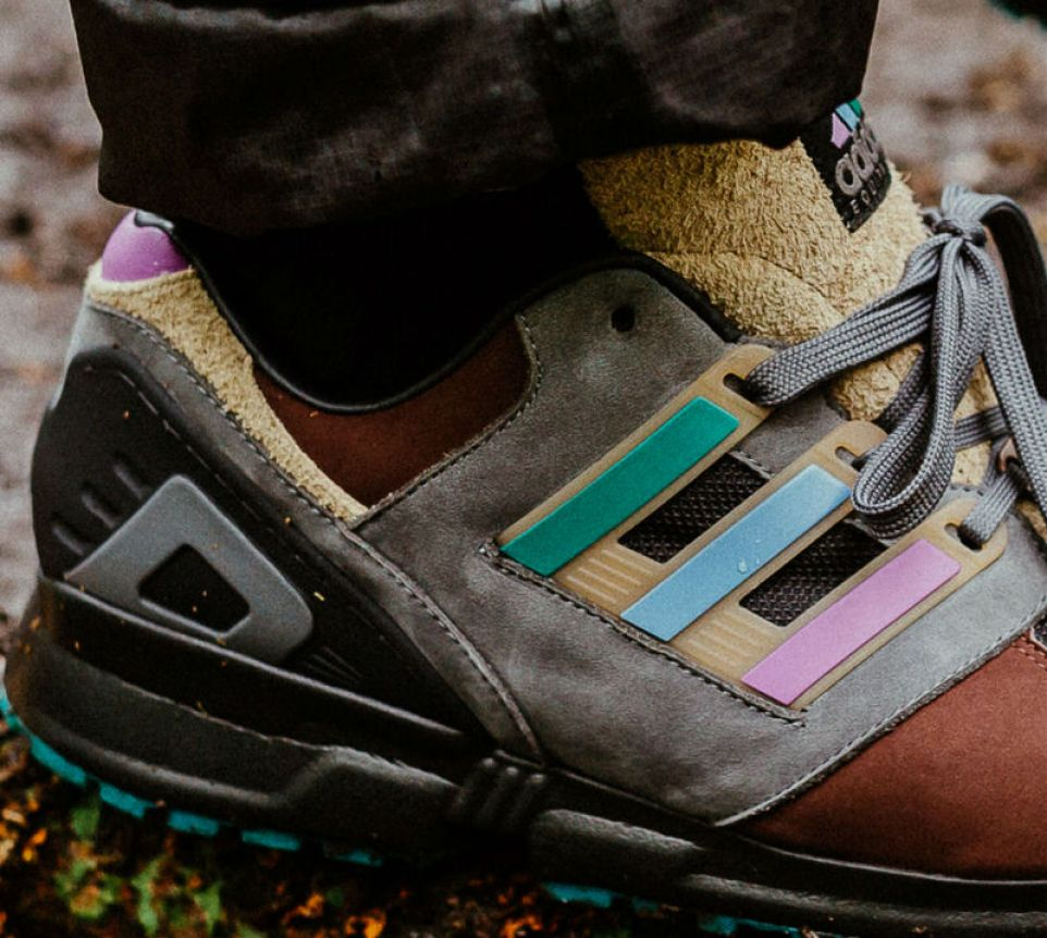 detailed look fe81b 91c41 The Packer Shoes x adidas Consortium EQT 91 is a hybrid of EQT heritage,  brought out in an outdoors-inspired brown-toned color scheme that has  highlights of ...