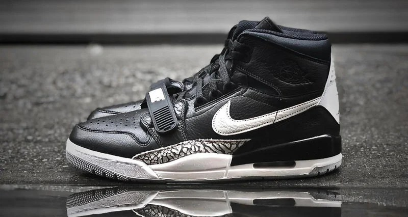 "fad40bd74c0e Jim Carrey Already Has the Newly Released Don C x Jordan Legacy 312 ""Black  Cement"""