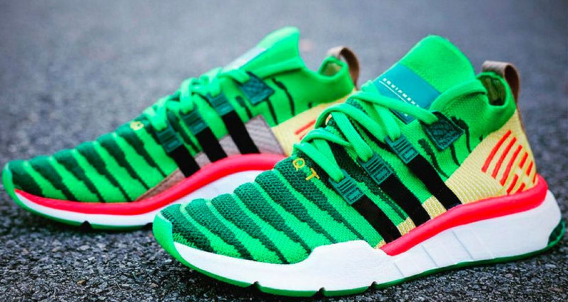 "e66b1555eb43 Dragon Ball Z x adidas EQT Support Mid ADV ""Shenron"" May be Best in Show"