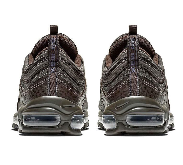 """616748582f The Nike Air Max 97 Premium """"Velvet Brown"""" is available now via Nike.com  for the $170."""