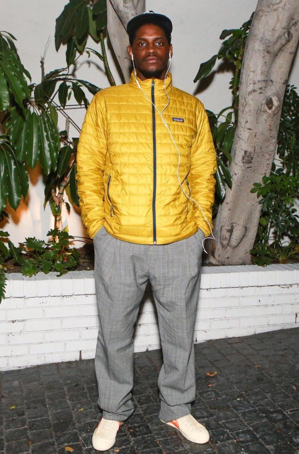 Asap Nast in the Off White x Nike Blazer Mid 'All Hallow's Eve'
