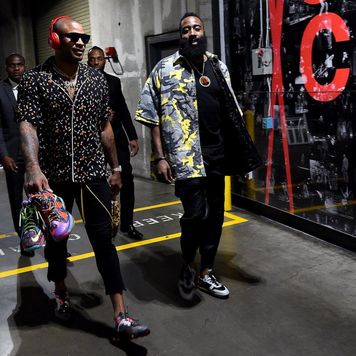 PJ Tucker in the Nike React Element 87