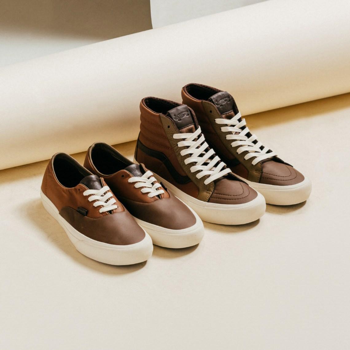Vans Vault Premium Leather Pack