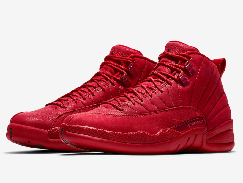 pretty nice c4a16 ae9fd Air Jordan 12. Colorway  Gym Red Gym Red-Black Release Date  November 23,  2018. Price   190