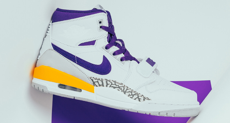new arrivals 2fc95 30cfb Don C s Jordan Legacy 312 Goes Hollywood with Lakers Edition