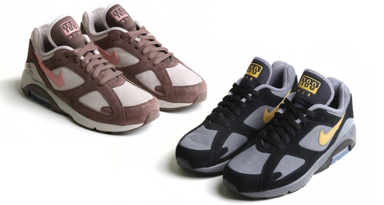 best sneakers 182d8 d71c3 Suede Scores Fall Nike Air Max 180 Collection