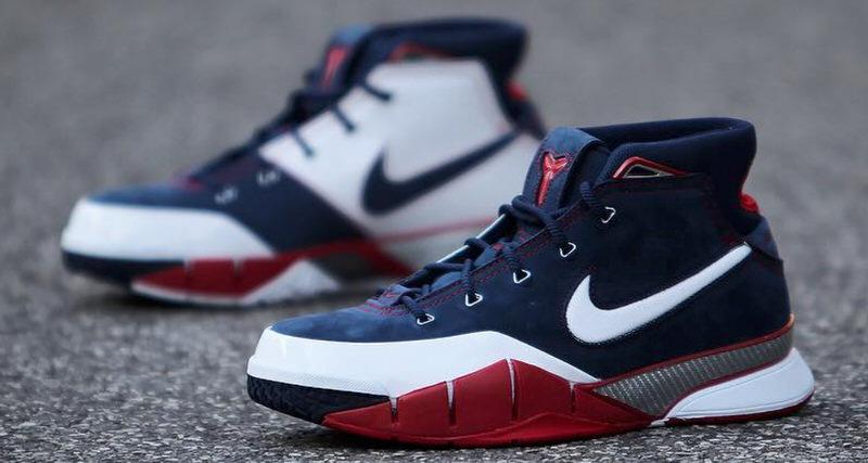"best cheap abc90 f96eb Nike Kobe 1 Protro ""USA"" Revives Rare Release"