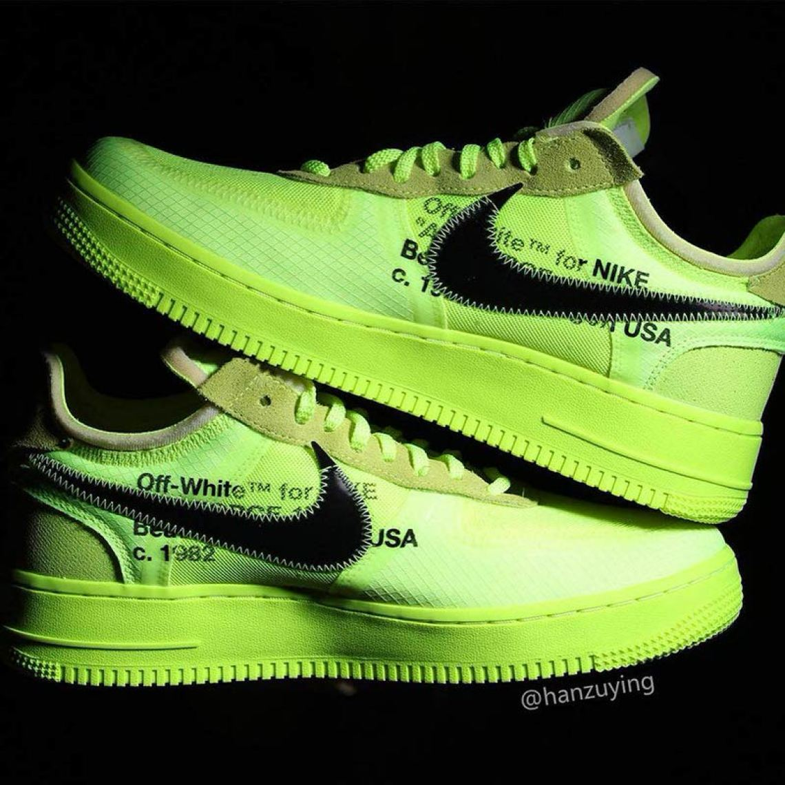 reputable site 674d7 77ff2 Off White x Nike Air Force 1 Low