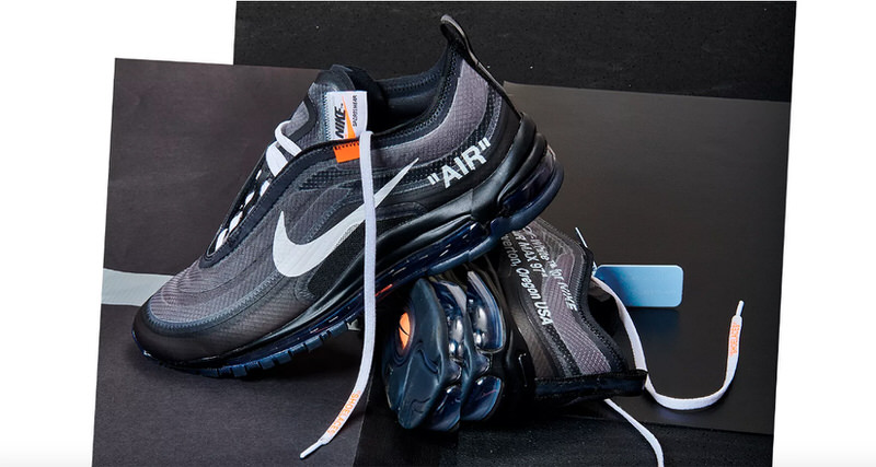 "Nike SNKRS Draw Features Off White x Nike Air Max 97 ""Black"" Tomorrow fab009ace"