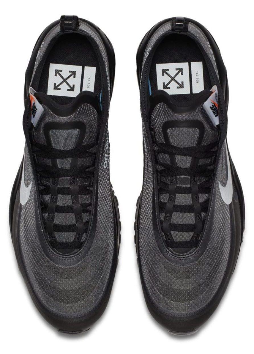 "Off White x Nike Air Max 97 ""Black"""