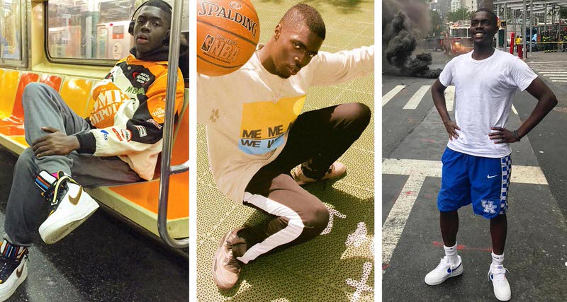 sheck wes sneakers style - Sheck Wes