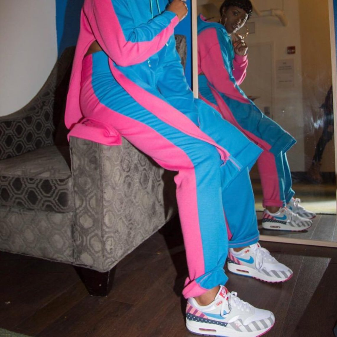Tierra Whack in the Parra x Nike Air Max 1