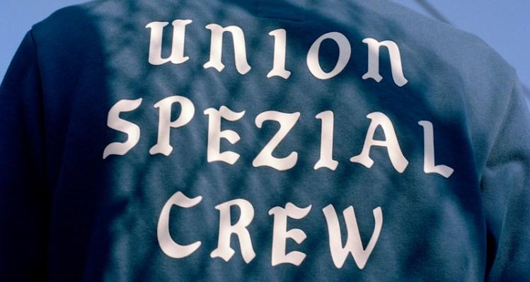 Union x adidas Spezial