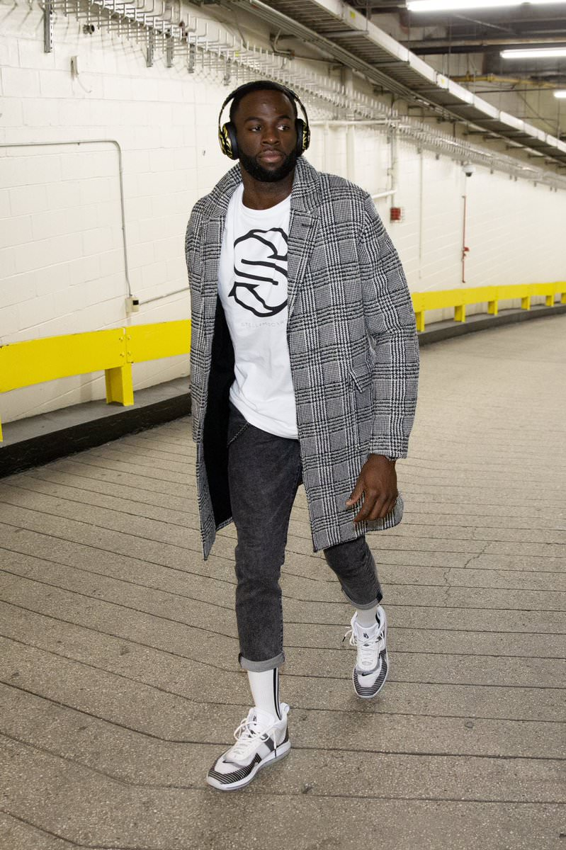 Draymond Green in the John Elliot x Nike Lebron Icon