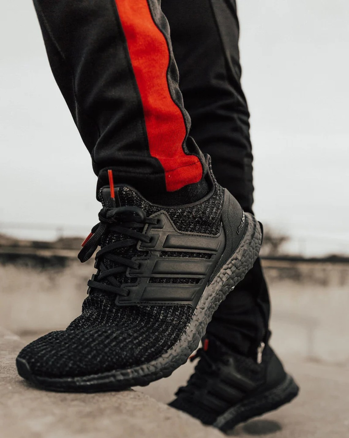"""Get a look at the adidas Ultra Boost 4.0 """"Triple Black"""" in styled shots  below with pairs available now at adidas. Keep it locked to Nice Kicks for  more ... 9e1352b6d"""