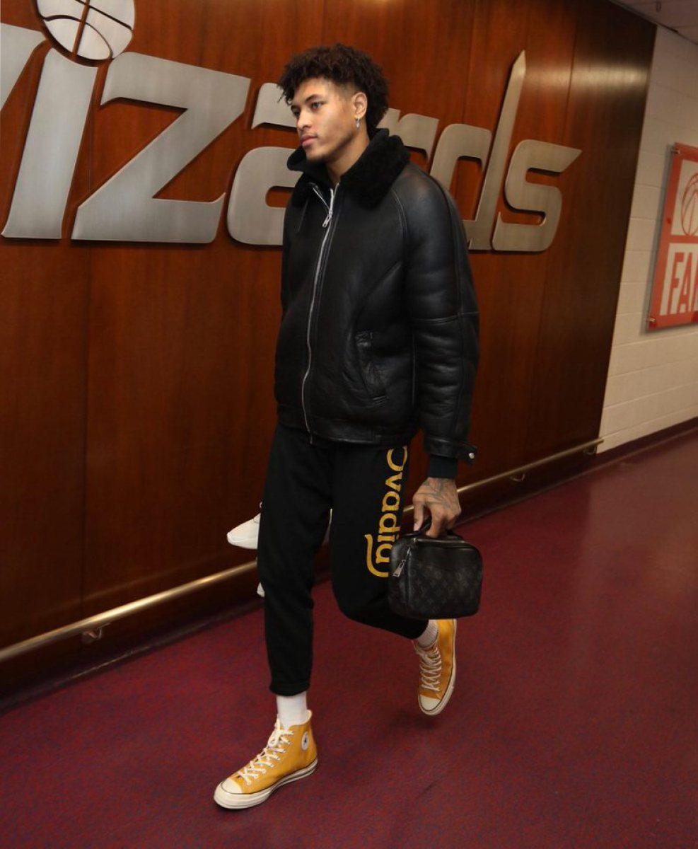 Kelly Oubre Jr. in the Converse Chuck Taylor