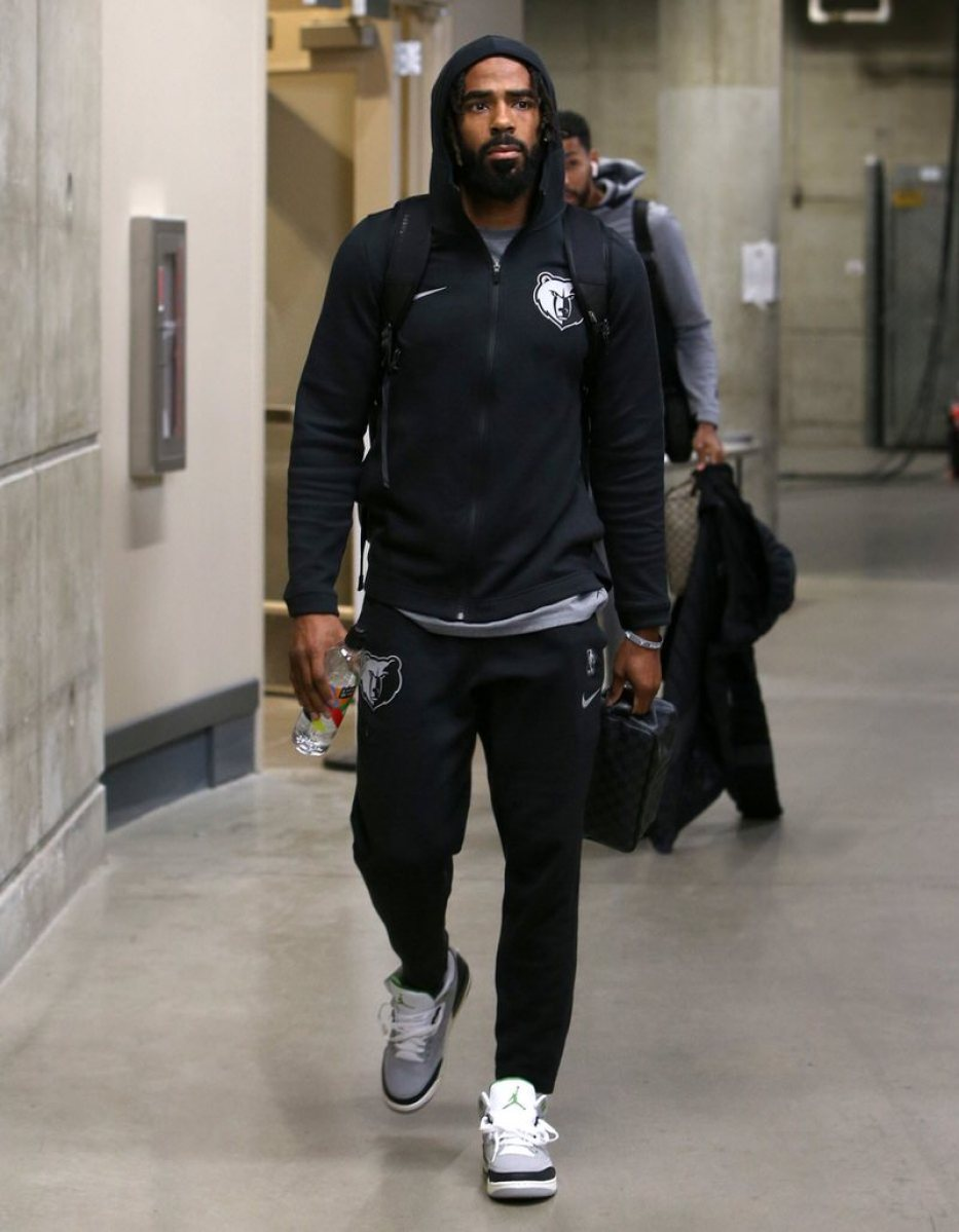 "Mike Conley in the Air Jordan 3 Retro ""Chlorophyll"""