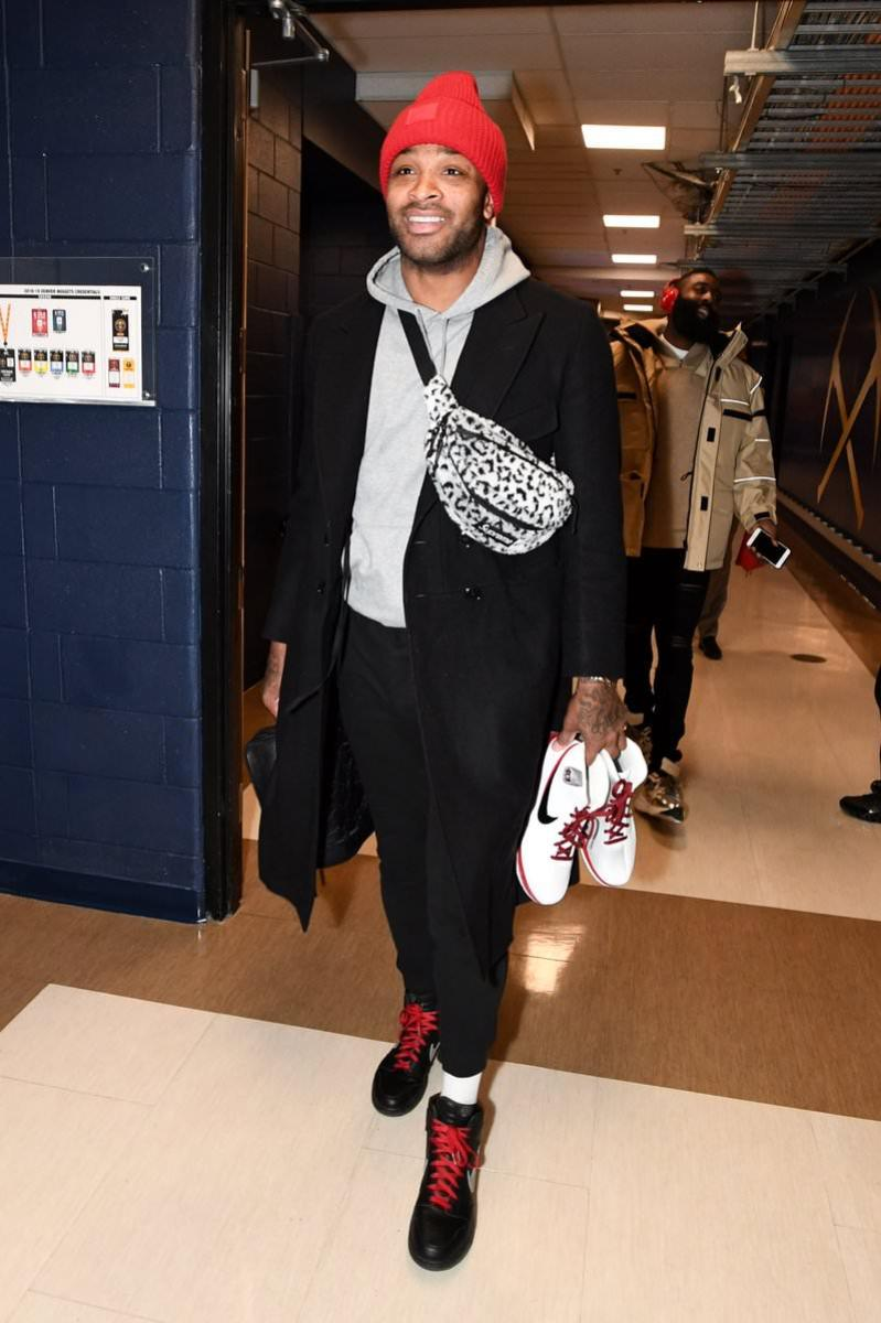 "PJ Tucker in the Air Jordan 1 Retro High OG ""Not For Resale"""