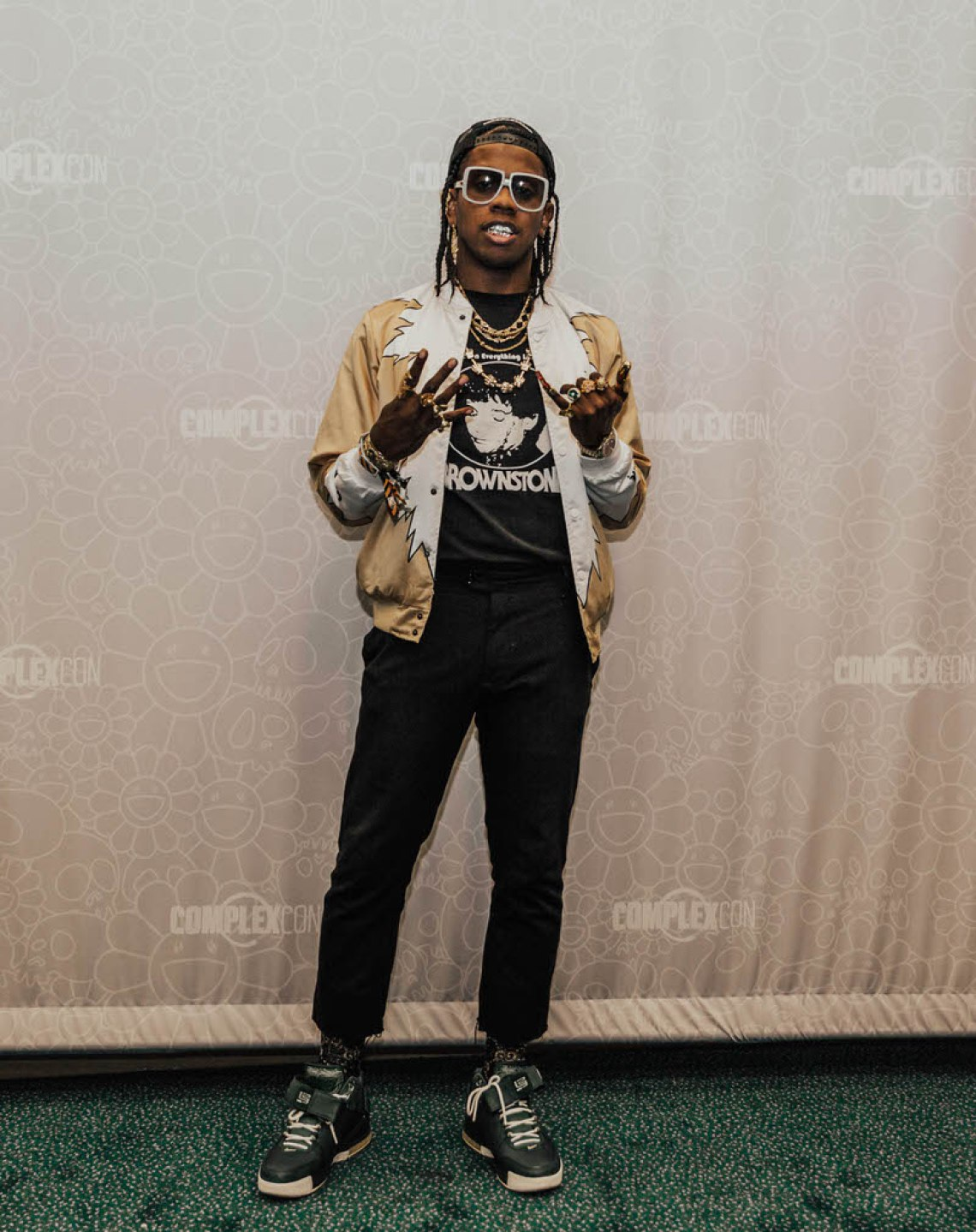 "Trinidad James in the Nike Lebron 2 ""Oregon"""