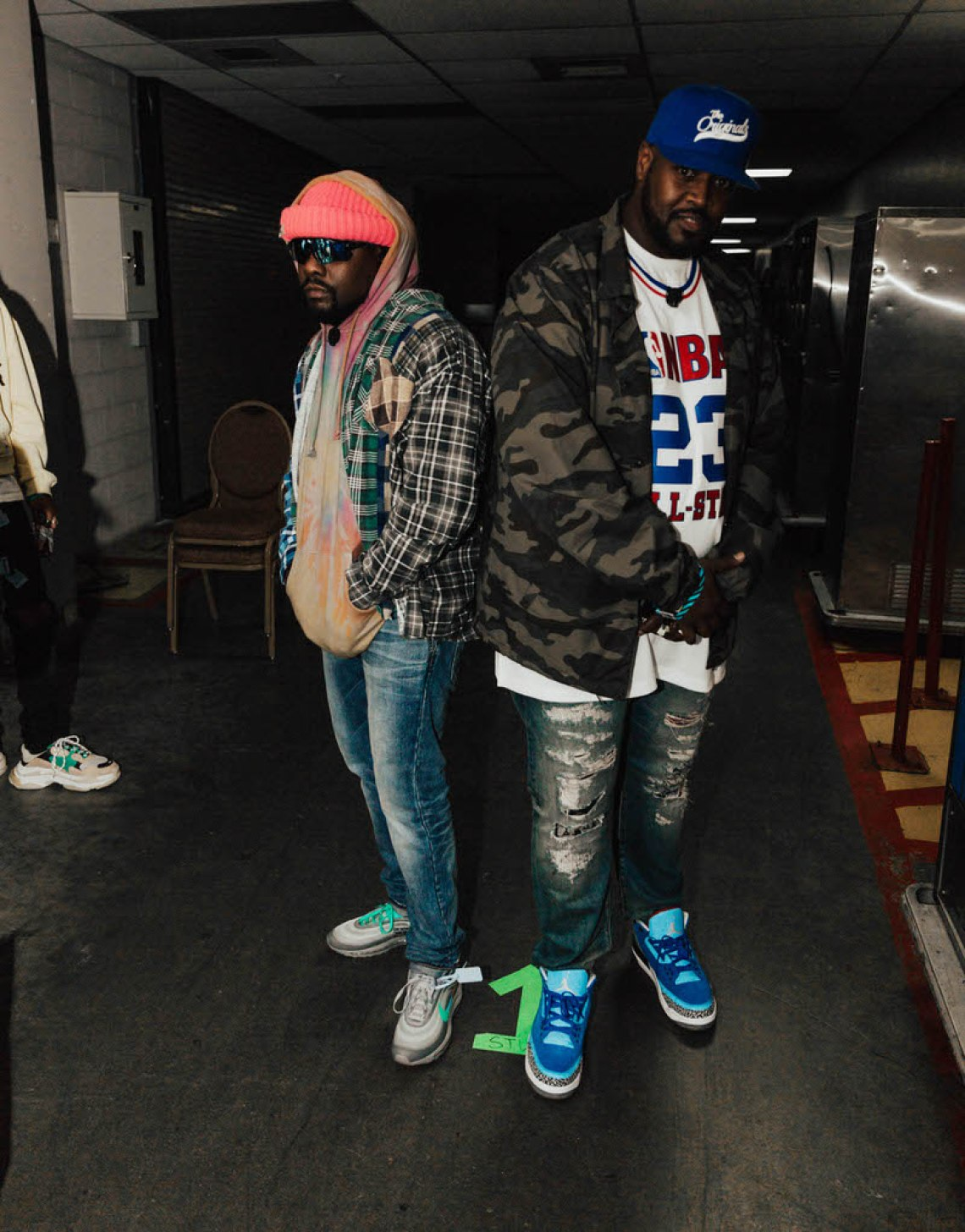 "Wale in the Off White x Nike Air Max 97 ""Menta"""