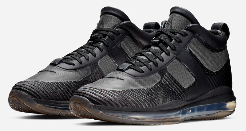 "meet e716d 2528a Where to Buy the John Elliott x Nike LeBron Icon ""Triple Black"""