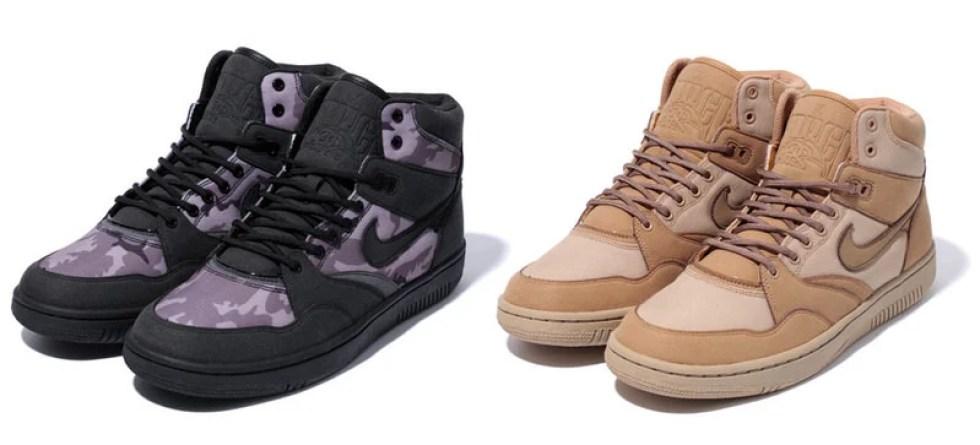 sale retailer e5af6 d0a5a Stussy x Nike Sky Force 88 Mid