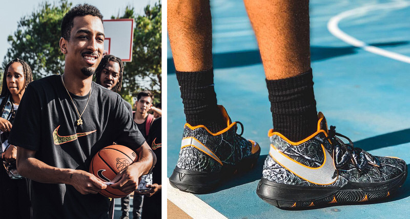reputable site a70bb 85e7e Taco Talks Kyrie Collab   Dreaming to Design for Kobe
