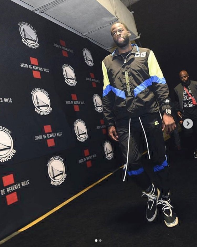 Draymond Green in the Nike Air Fear of God 1