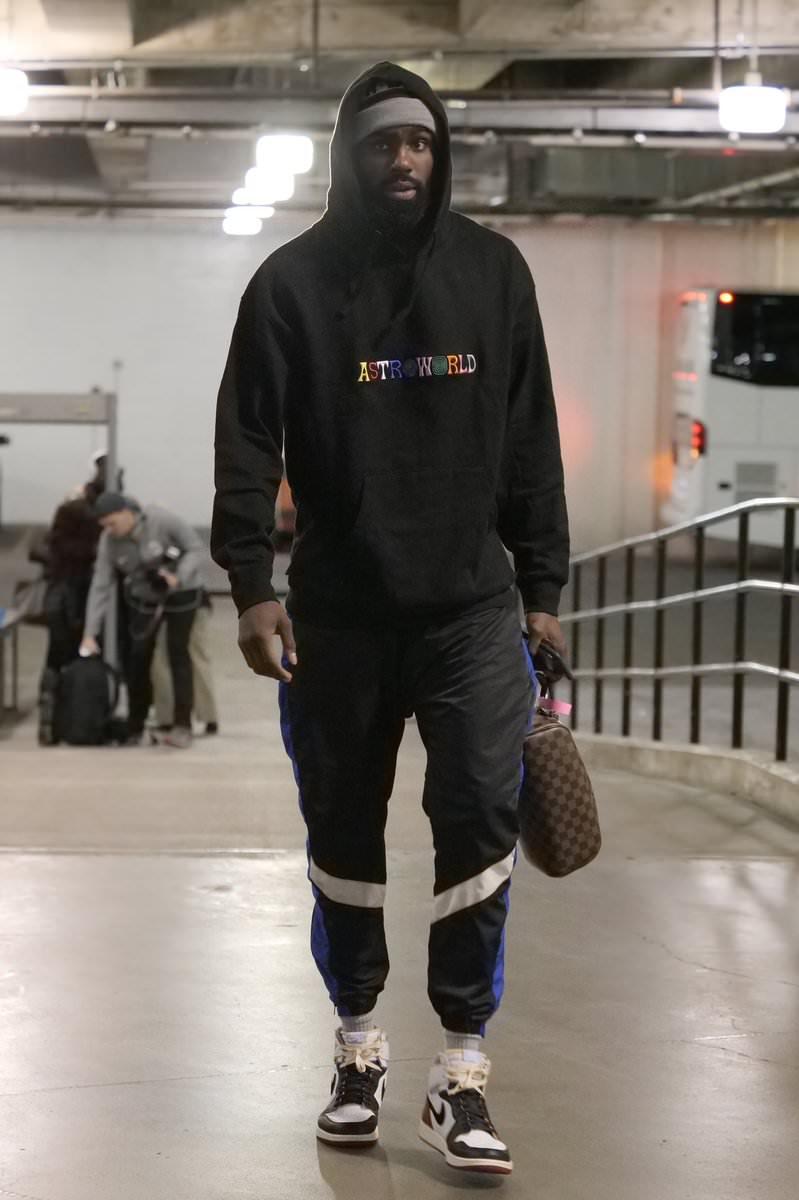 Tim Hardaway Jr in the Union x Air Jordan 1