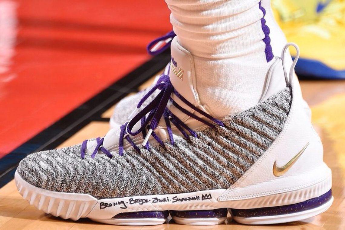 08ecd21712d LeBron James in the Nike LeBron 16 vs. Houston Rockets (Bill Baptist NBAE  via Getty Images)